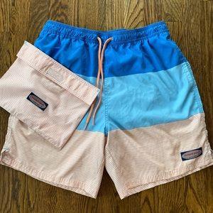 Vineyard Vines Men's Chappy Swim Shorts Trunks